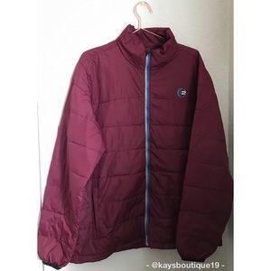 Billabong Maroon Winter Jacket Size L